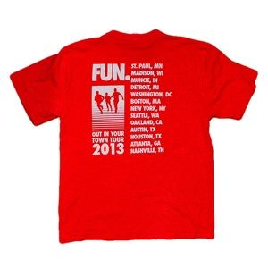 FUN. 2013 Authentic Tour Tee